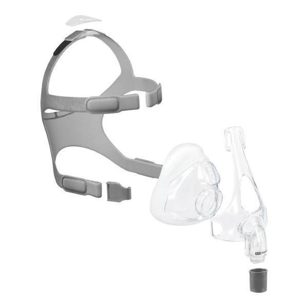 Masque facial CPAP Simplus (Fisher and Paykel) - vue explosée - Promédic senc Joliette