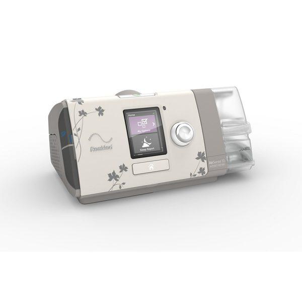 CPAP DreamStation expert Philips Respironics -pour femme - vue de côté - Pro-médic senc clinique du sommeil