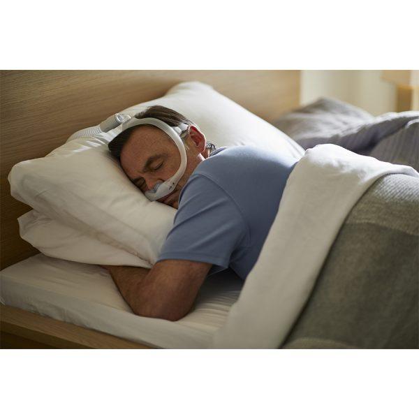 Masque Dreamwear narinaire Philips Respironics - sommeil sur le ventre - Pro-médic clinique du sommeil
