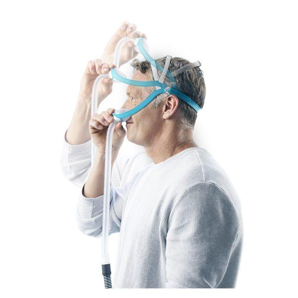 Masque nasal Evora Fisher and Paykel -mise en place facile - Pro-Médic senc Joliette