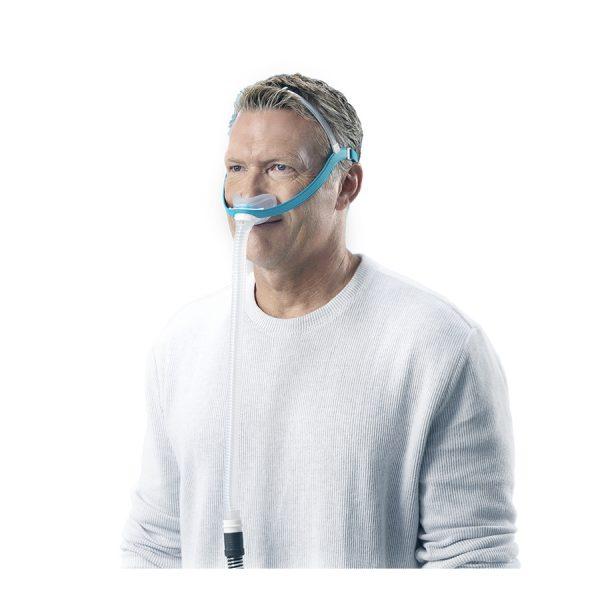 Masque nasal Evora Fisher and Paykel - vue de profil - Pro-Médic senc Joliette