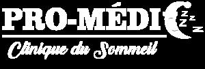 Promédic - Clinique du sommeil Joliette (logo blanc)